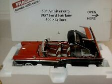 DANBURY MINT 1957 FORD SKYLINER..RARE 50TH ANN..1:24..MIB..MINT..PERFECT PAINT