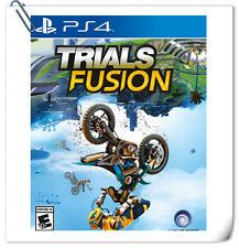 PS4 SONY PlayStation Games Trials Fusion Racing Ubisoft