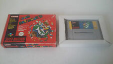 SUPER MARIO WORLD - SUPER NINTENDO - JEU SUPER NES SNES PAL EN BOITE