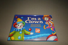 """I'm A Clown"" Pop-Up Hardcover Book By Nancy Parent~For Ages 36 Months & Up, NEW"