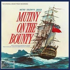 CD MUTINY ON THE BOUNTY ORIGINAL MGM SOUNDTRACK BRONISLAU KAPER HOWARD & HARRIS