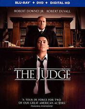 The Judge Robert Downey Jr.+Robert Duvall Blu-ray Only Watched A Few Times