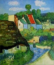 Quality Hand Painted Oil Painting Repro Van Gogh's House at Auvers 20x24in