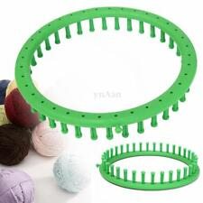 24cm Classical Green Round Circle Knitter Knitting Loom Ring For Hat Scarf Sock