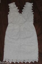 LILLY PULITZER White Papillon Butterfly Lace REEVE DRESS Wedding Party - Size 10
