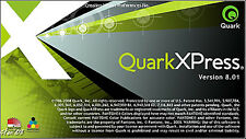 QUARKXPRESS 8.01 sous PC (mise en page prof.)