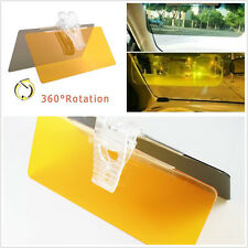 Auto Vehicle Sun Visors Clip Sunshade Day and Night Anti-Dazzle Filter Mirrors
