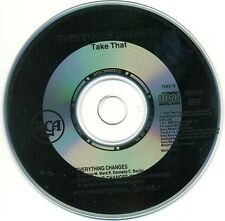 TAKE THAT - Everything changes PROMO 2TR CDS 1994 POP VERY RARE!