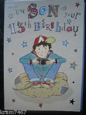 Son`s 13th Birthday Card New Design from the makers of Tatty Teddy