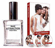 Attract Women with LuvEssentials MAX ATTRACTION Pheromones Simple Seduction Kit