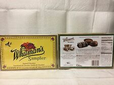 LOT OF 2 WHITMANS SAMPLER ASSORTED CHOCOLATES 12 OZ EACH - EXP 4/17 - VALENTINES
