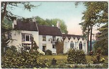SOMERSBY - Lord Tennyson's Birthplace - Wrench #15521 - c1900s era postcard