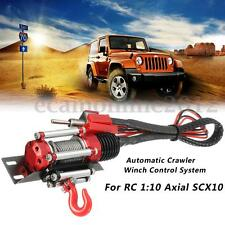 Remote Control Automatic Crawler Winch Traction System For RC1:10 Axial SCX10