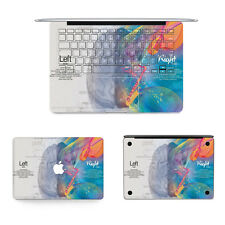 Brain Full Body Vinyl Wrap Skin Protector Sticker For Apple MacBook Pro 13''