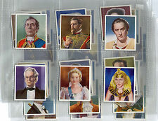 cigarette cards characters come to life film stars 1938 full set