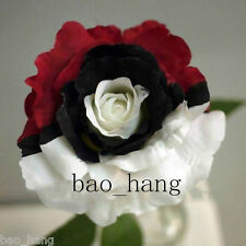 Red White Black Rose Flower Seeds Fresh 30Pcs Garden Perennial Plants Free Ship