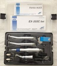 NSK Style Dental Wrench Type Handpiece Kit (EX203C + Pana-Max High Speed) 2 Hole