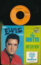 ELVIS PRESLEY 45 TOURS GERMANY IN THE GHETTO+
