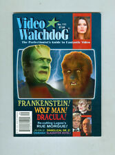 Video Watchdog #111 September 2004 VF/NM Frankenstein Wolfman Dracula