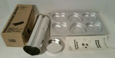 Pampered Chef Valentines Day Heart Bread Pan Tube Wilton Cupcake Jello Mold