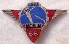 66° Groupe de FTA 1939 Artillerie Antiaérienne insigne Drago Original WWII