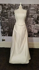 Pronovias Sequinned Lace up Gown  (Ivory) Wedding, VERY special Event,RRP £1000+