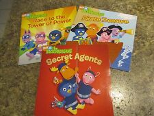 Lot of 3 Backyardigans - Race to Tower of Power Secret Agents - FOL