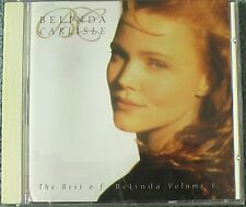 Belinda Carlisle - The Best Of Belinda. Volume 1. CD 1992. Virgin Records.