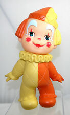 VTG 1971 IWAI INDUSTRIAL CO. LTD TOY CLOWN BABY RUBBER FIGURE DOLL MADE IN JAPAN