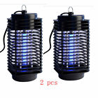 2PCS Electronic Mosquito Killer Lamp Insect Zapper Bug Fly Pest Control US STOCK