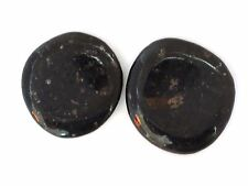 BULK  RARE SPARKLY NUUMMITE  NUUMITE WORRY STONES - 2 PIECE LOT - BEST PRICE