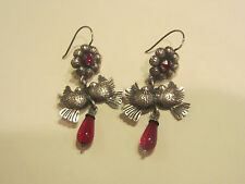 ELENA SOLOW STERLING EARRINGS FRIDA STYLE