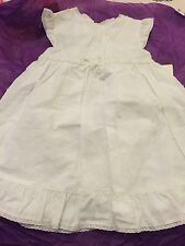 Carters - White Baby Dress