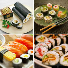 Kitchen Tool Sushi Maker Kit Rice Roll Mold DIY Mould Roller Mat Rice Paddle Set