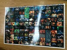 *1995 Australia Dynamic Batman Forever Movie Cards Base Set Uncut Sheet(110)Rare
