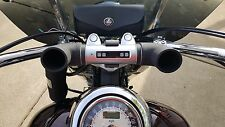 THUMPER SILVER BLUETOOTH MOTORCYCLE BIKE HANDLEBAR BAG SPEAKER STEREO HARLEY