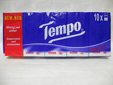 10 Tempo pocket tissues Netural