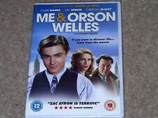 Me And Orson Welles (DVD) New and Sealed Zac Efron + Special Features