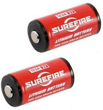 SureFire 123A SF123A CR123A Lithium 3V 3 VOLT Batteries (2 Pack)