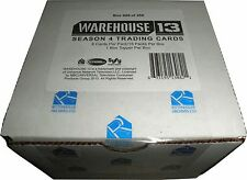 Warehouse 13 Season 4 Factory Sealed Box of 15 Premium Pack Autograph Card Relic