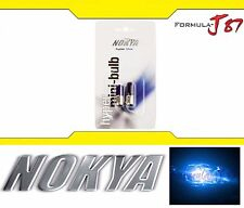 Nokya Miniature BA9s Blue 5W Nok6421 Two Bulbs Color Replace Light Fit Plug Play