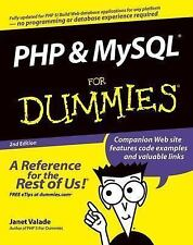 PHP and MySQL For Dummies (For Dummies (Computer/Tech)) Valade, Janet Paperback