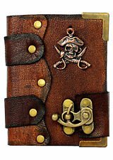 Pirate Knifes Pendant Brown Leather Journal / Diary / Sketchbook / Leatherbound