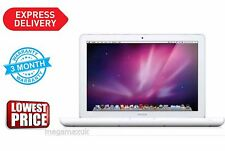 "Apple MacBook 13"" Core 2 Duo 2.4Ghz 4GB 250GB Blanco Unibody Mid-2010 MC516 A1342"