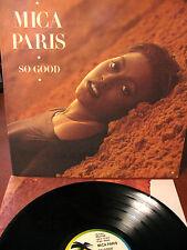 MICA PARIS So good - LP- island- Italy- 1988