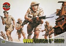Airfix A01709 WWII British 8th Army 1:72 Scale Series 1 Plastic Figures