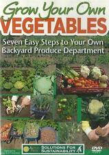 Grow Your Own Vegetables 7 Easy Steps  DVD NEW