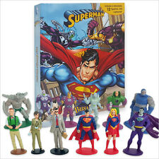 DC COMICS SUPERMAN Busy Book - 12 cifre e un Playmat NUOVISSIMO Free P+P