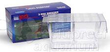 3 Way Aquarium Guppy Fish Breeder Fry Divider/Isolation Tank Lee's