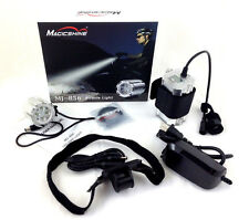 MagicShine MJ856 1600 Lumen 4 mode LED Bike Light 828 Batt + Helmet Mount Kit